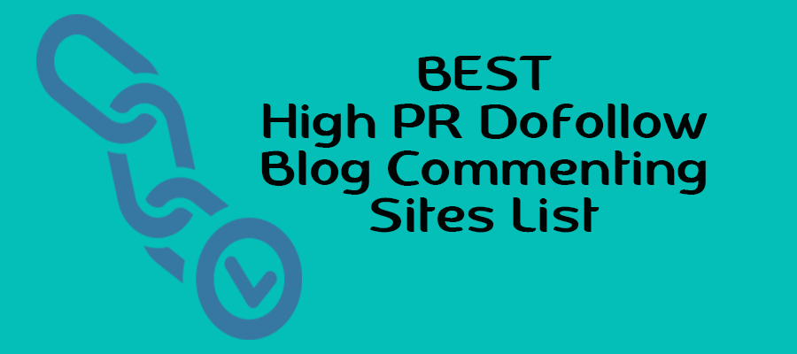 high pr instant approval blog commenting sites