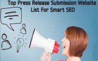 high pr free press release sites