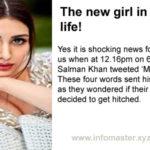 The new girl in Salman's life