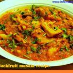Raw Jackfruit masala recipe