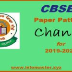 CBSE Exam pattern changed soon 2019-20