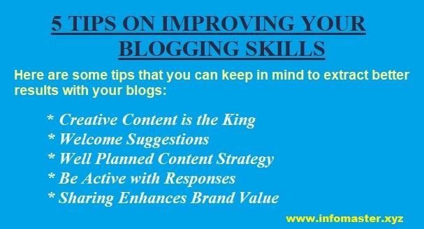 5 tips on improving blogging skills
