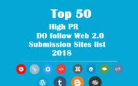 high pr do follow web 2.0 sites list