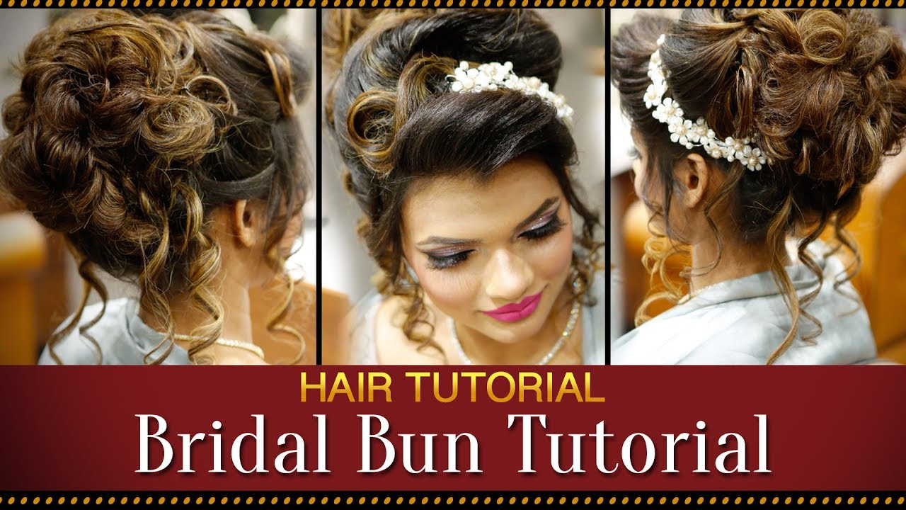Makeup and Hairstyles for Indian Bride