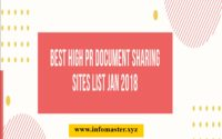 Do Follow Free Document Sharing Sites