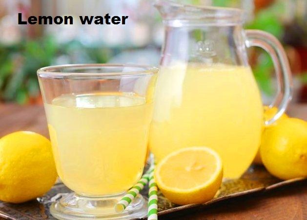 lemon water weightloss