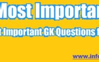GK-Questions with Answers