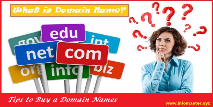 what is domain name & tips to buy domain names