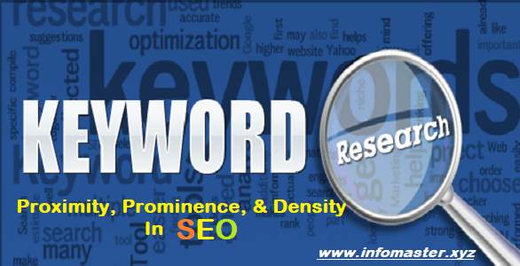 Keyword Proximity, Prominence, and Density In SEO