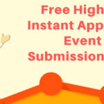 event submission sites list 2019
